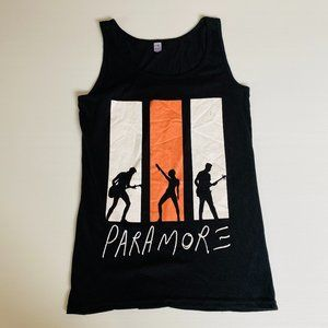 Paramore Size M Band Singlet Women's